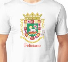Feliciano Shield of Puerto Rico Unisex T-Shirt