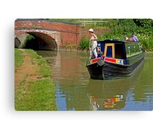 Holiday Afloat Canvas Print