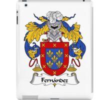 Fernandez Coat of Arms/Family Crest iPad Case/Skin