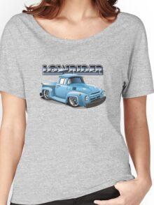 Cartoon lowrider truck Women's Relaxed Fit T-Shirt