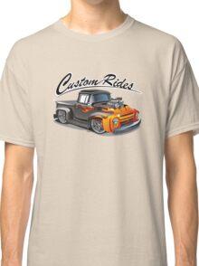 cartoon hotrod truck Classic T-Shirt