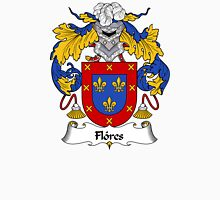 Flores Coat of Arms/Family Crest Unisex T-Shirt