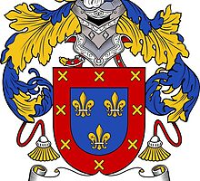 Flores Coat of Arms/Family Crest by William Martin