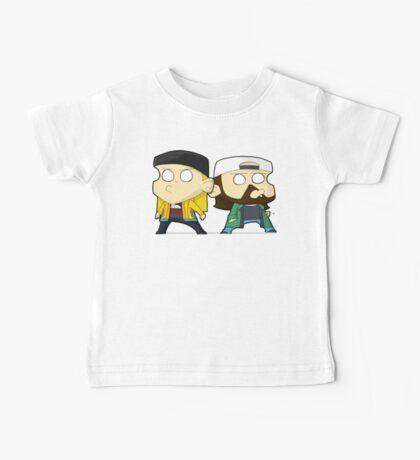 TheDandyTiger chibi style Jay & Bob Baby Tee
