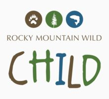 Rocky Mountain Wild Child Baby Tee