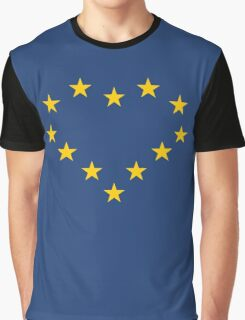 EU heart Graphic T-Shirt