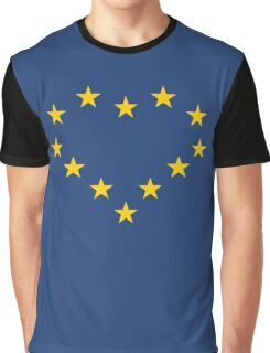 EU heart Graphic T-Shirt