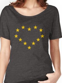 EU heart Women's Relaxed Fit T-Shirt