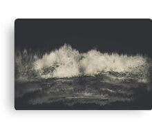 Into the Waves Canvas Print