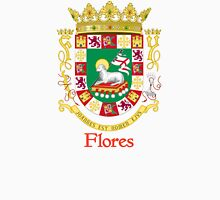 Flores Shield of Puerto Rico Unisex T-Shirt