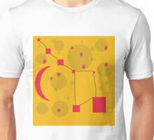 yellow sky by Moma Unisex T-Shirt
