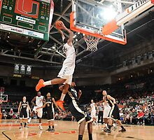 Rion Brown Miami Hurricanes Basketball by keepitcool