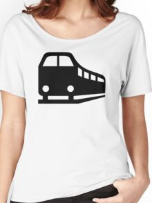 Train railway Women's Relaxed Fit T-Shirt