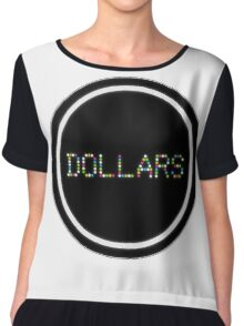 Dollars - Durarara!! Women's Chiffon Top