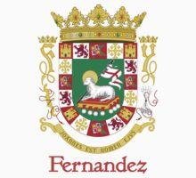 Fernandez Shield of Puerto Rico Kids Tee