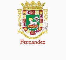 Fernandez Shield of Puerto Rico Unisex T-Shirt