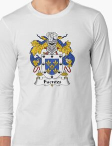 Fuentes Coat of Arms/Family Crest Long Sleeve T-Shirt