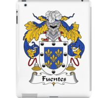 Fuentes Coat of Arms/Family Crest iPad Case/Skin