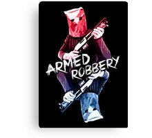 Armed Robbery Canvas Print