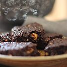 Chocolate Hazelnut Brownies by Astrid Ewing Photography