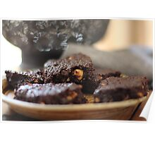 Chocolate Hazelnut Brownies Poster