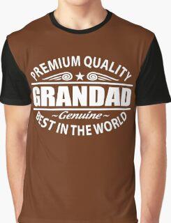 Premium Quality Grandad Shirt - Grandfather Gifts Graphic T-Shirt