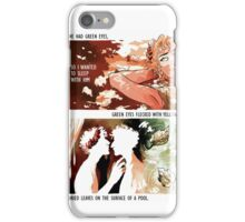 Achilles & Patroclus + Richard Siken iPhone Case/Skin