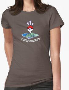 Searching Far and Wide Womens Fitted T-Shirt