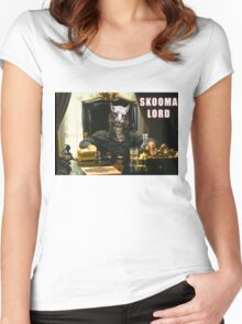 Skooma Lord (Skyrim) Women's Fitted Scoop T-Shirt