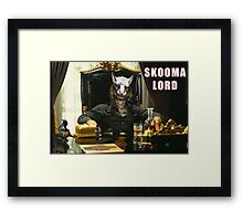 Skooma Lord (Skyrim) Framed Print