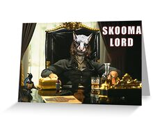 Skooma Lord (Skyrim) Greeting Card