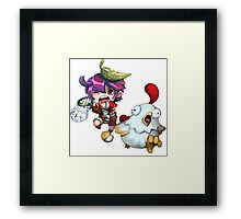 Adventure Boy RPG Framed Print