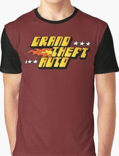 -GEEK- GTA 1 Logo Graphic T-Shirt