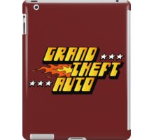 -GEEK- GTA 1 Logo iPad Case/Skin
