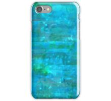 Blue Green and Turquoise Watercolor  iPhone Case/Skin