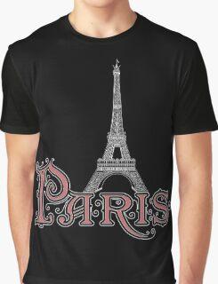 Paris France Eiffel Tower Graphic T-Shirt