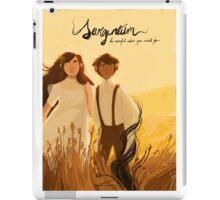 in the field iPad Case/Skin