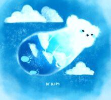 CLOUD Bear Sticker