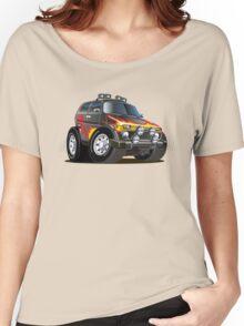 cartoon jeep Women's Relaxed Fit T-Shirt