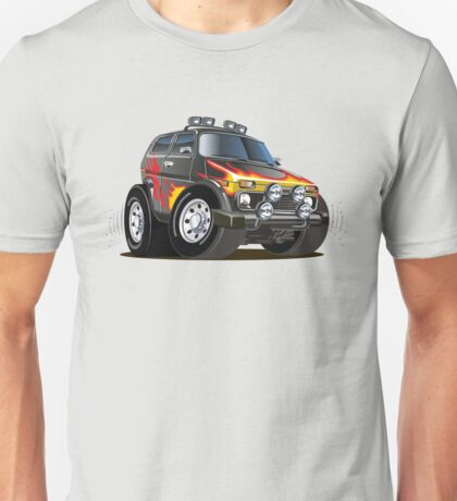 cartoon jeep Unisex T-Shirt