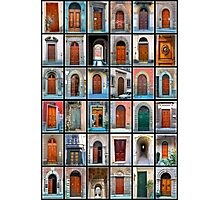 Doors of Florence and Siena Photographic Print