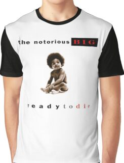 -MUSIC- Ready To Die Cover Graphic T-Shirt