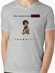 -MUSIC- Ready To Die Cover Mens V-Neck T-Shirt