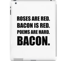 Bacon Poem iPad Case/Skin