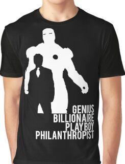 Genius. Billionaire. Playboy. Philanthropist. Graphic T-Shirt