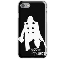 God of Thunder iPhone Case/Skin