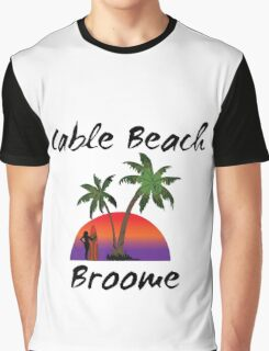 Cable Beach Broome Australia Graphic T-Shirt