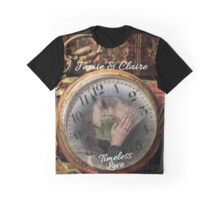Outlander/Jamie & Claire Fraser/Timeless Love Graphic T-Shirt
