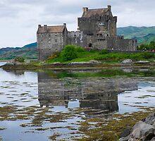 Eilean Donan castle in Scotland by milena boeva