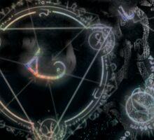 Darkly Mystical Sticker